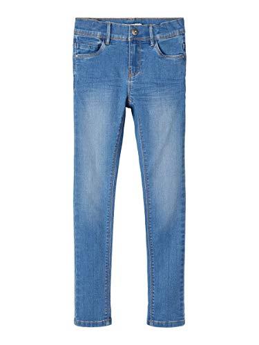 NAME IT Girl Jeans Skinny Fit 140Medium Blue Denim