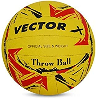 Vector X Throw Football (18Panels) (Yellow-Red)