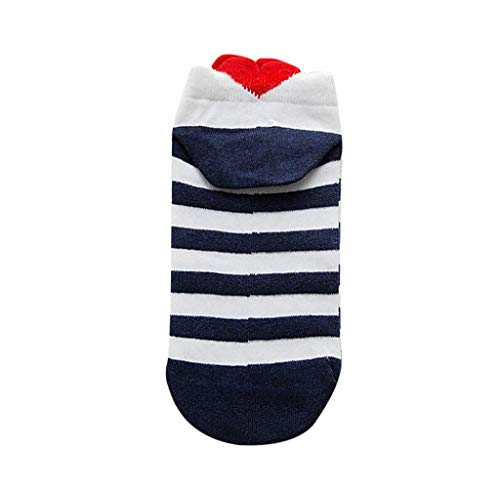 Frauen Männer Socken Lässige herzförmige Love Baumwollsocke Komfortabel Sportsocken