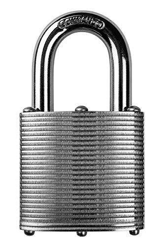 Commando Lock Heavy Duty Steel Padlock - Strong & Durable, High Security Military Grade Weatherproof