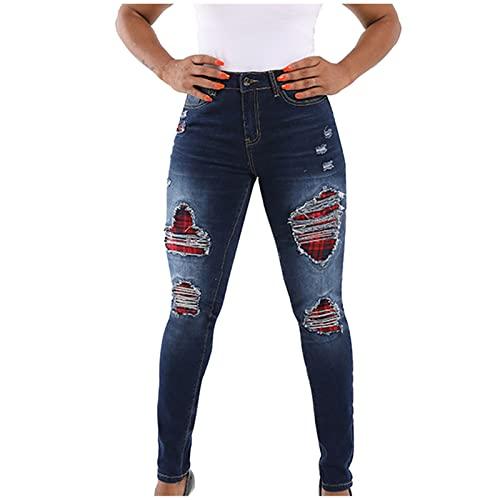 Banbry Skinny Jeans Damen Stretch Hose...
