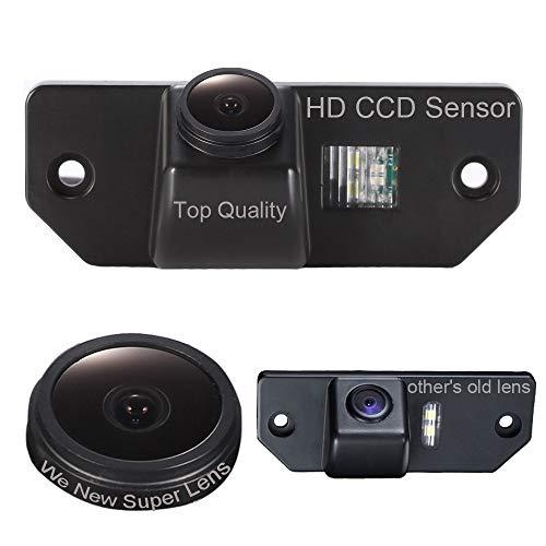 Dynavsal Auto Rückansicht Kamera 1280*720 Pixel 1000TV Linien Super Objektiv Wasserdicht Nachtsicht Einparkhilfe, Rückfahrkamera für Ford Mondeo /Focus/C-Max/Focus Sedan(3 Carriage)/Focus (2 Carriage)