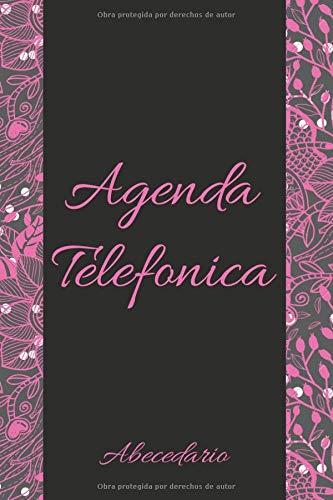 Agenda Telefonica: libreta abecedario A5 17x22, para las niñas o las mujeres, guarda tus direcciones, correos electrónicos, números de teléfono, ... contraseñas de regalo originales y perfectas.