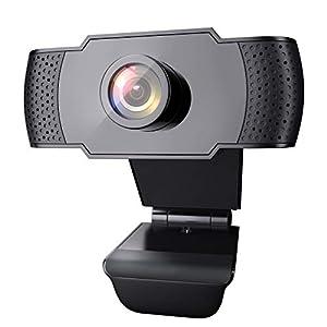 【1080P Videos & Corrección Auto de Luz】Esta cámara para PC presenta imágenes de mucha nitidez y 1080P videos. Adoptando la avanzada tecnología de compresión H.264, la transmisión de imágenes es más estable y fluida, ofreciéndole un fantástico tiempo ...