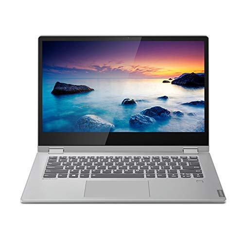 "Lenovo Ideapad C340 - Portatil convertible 14"" FullHD (Intel Core i5-10210U, 8GB RAM, 512GB SSD, Intel UHD Graphics, Windows10), Color Gris - Teclado QWERTY español"