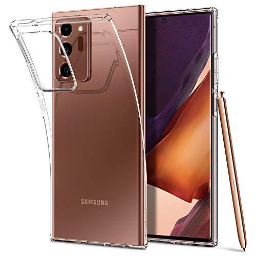 Spigen Liquid Crystal Hülle Kompatibel mit Samsung Galaxy Note 20 Ultra -Crystal Clear