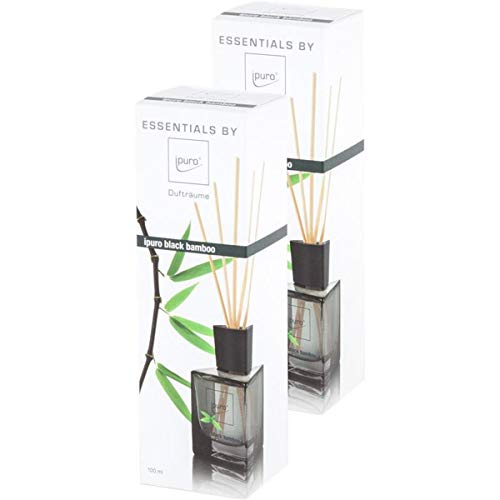 Essentials by Ipuro black bamboo 100ml (2er pack)