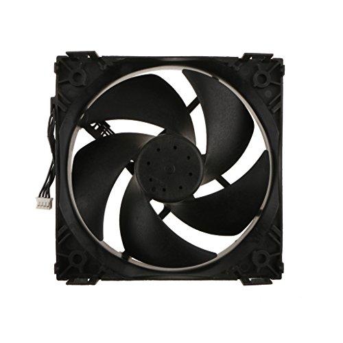 B Blesiya Ventilador de Caja de Calidad Ventilador de Repuesto para Ventilador de Caja para Xbox One, Hecho de Plástico