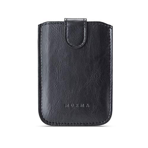 Custodia a portafoglio in pelle PU Portafoglio Card Bag Supporto adesivo Custodia per telefono cellulare