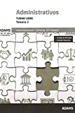 Temario 3 Administrativos de la Administración del Estado, turno libre