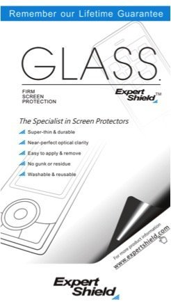Expert Shield Displayschutz für Lumix ZS20 / TZ30, extrem robust, transparent