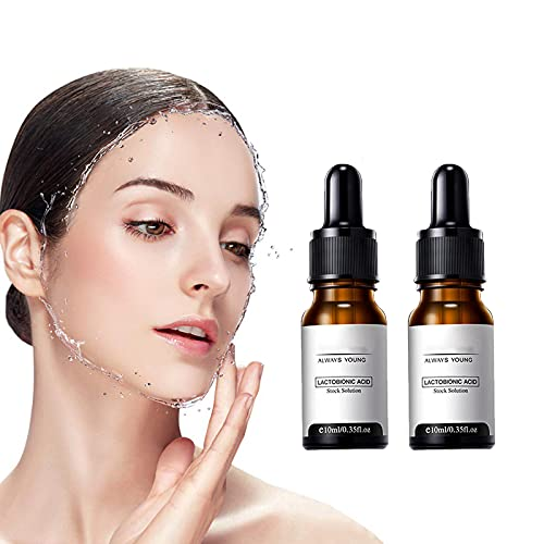 EYYC Zero Pore Instant Perfection Serum, Instant Perfection Wrinkle Essence serum, Pore Corset Serum, Always Young Lactobionic Acid Stock Solution, Tightening Suit for All Skin Type (2pcs)