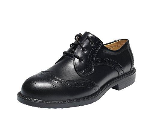 Emma Sicherheit Schuhe - D-XD Schwartz S3 ESD Lo Herren Business Sicherheit Schuh - Bologna, D 45 EU / 10.5 UK