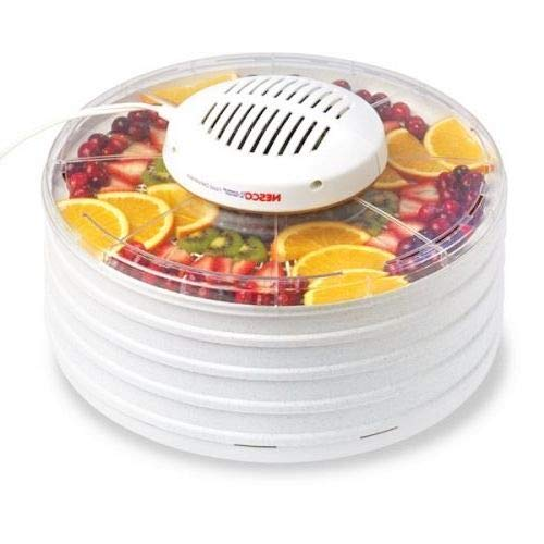 Lowest Prices! OKSLO American harvest food dehydrator with 4 trays gray speckled