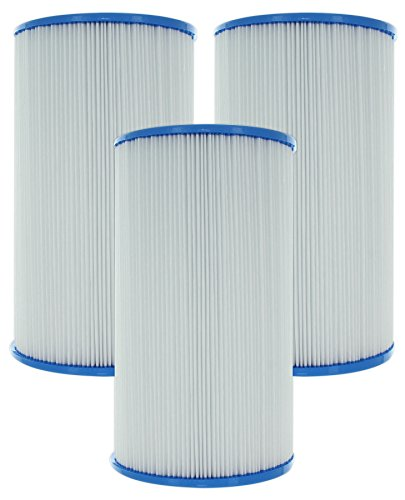 Guardian Filtration - 3 Pack Hot Tub & Spa Filter Replacement for Pleatco PWK30, Unicel C-6430, Filbur FC-3915 | 30 Sq. Ft. of Premium Filter Cartridge Material | Value Savings Pack | Model 610-124