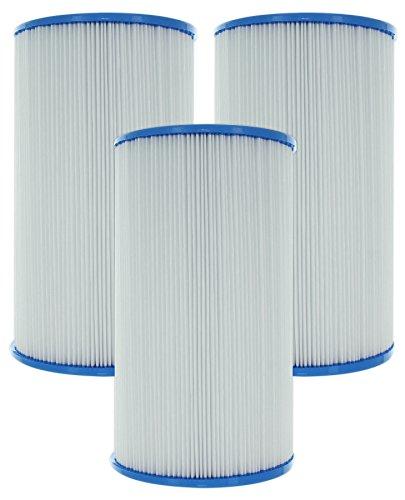 3-Pack Guardian Pool/Spa Filters • Replaces Watkins Hot Springs, Unicel C-6430, Pleatco PWK30, Filbur FC-3915