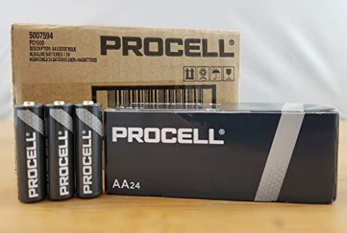 AA Duracell Procell Alkaline Batteries BOX OF 144 PC1500 PC-1500