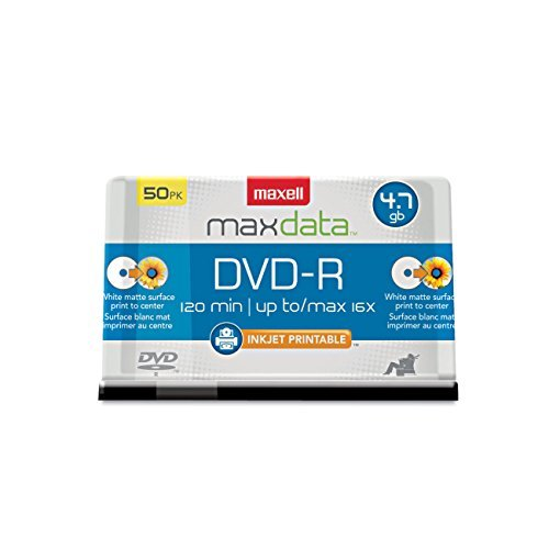 Maxell MAX638022 DVD Recordable ...