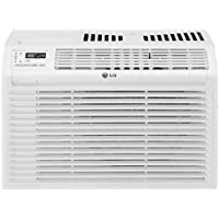 LG Electronics 6,000 BTU 115-Volt Window Air Conditioner With Remote (White)
