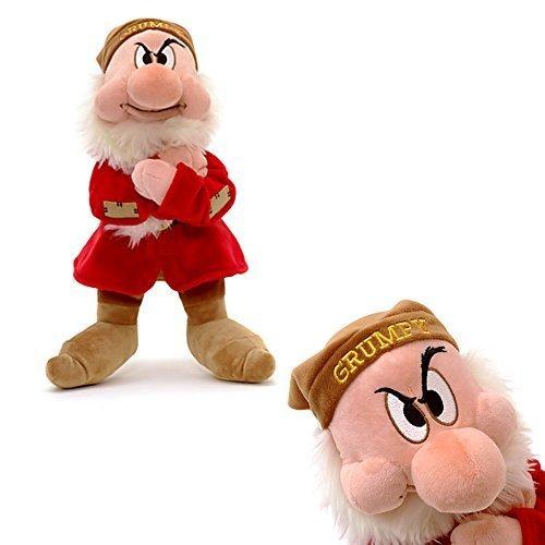 Disney Oficial Blancanieves y El 33cm siete enanitos Gruñón suave peluche de juguete