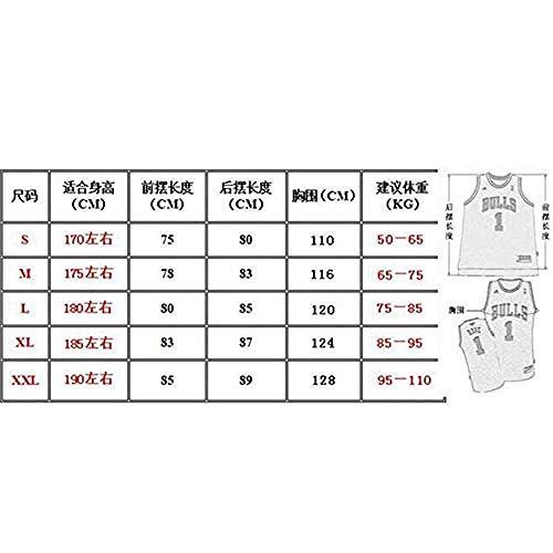 CLQ Camiseta-Booker Suns Men s Jersey - Sudadera de Secado rápido de Malla de Jersey de Atleta para Aficionados / 1#-XXL