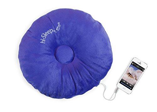 Hi-Fun Hi-Sleep - Cuscino con Speaker integrato per Mp3 e iPod - Blue Scuro