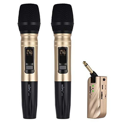JVCAN Hot Deals Draadloze Uhf-microfoon, draagbare USB-ontvanger voor Ktv Dj-spraakversterkeropname