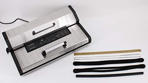 Ersatzteilset/Wartungsset Caso Vakuumierer - Dichtung, Teflonband, Gummidichtung, Schweißdraht (Wartungsset FastVac 4000/4004)