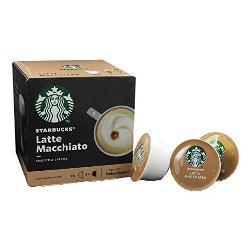 NEU! NESCAFÉ® Dolce Gusto® Starbucks® - Latte Macchiato - 12 Kapseln / 6 Portionen - 100% Arabica