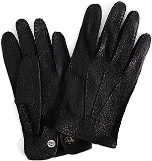 [デンツ] レザーグローブ 手袋 15-1043 ペッカリーレザー ライナー無し ギフト (メンズ) [並行輸入品]