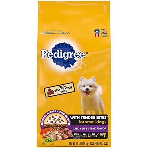 PEDIGREE with Tender Bites Complete Nutrition Adult Small Breed Dry Dog Food for Pugs