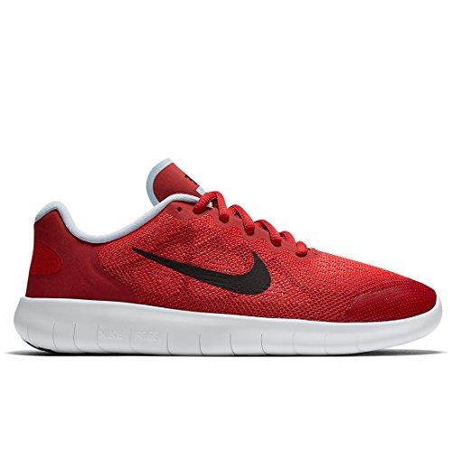 Nike Mädchen Free RN 2017 Laufschuhe, Rot (University Red/Port Wine/Tough Red/hydrogen Blue), 38 EU