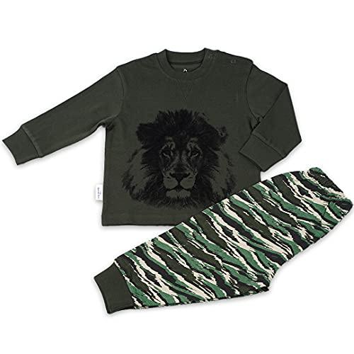 Frogs and Dogs | Pyjama Lion | Groen | Maat 128