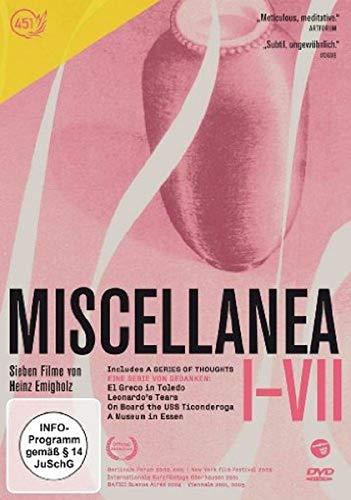 Miscellanea (I-VII) - Sieben Filme von Heinz Emigholz