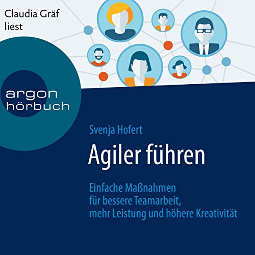 Agiler führen audiobook cover art