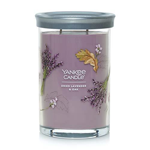 Yankee Candle Dried Lavender & Oak Signature Large Tumbler Candle