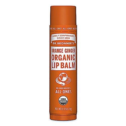 Dr Bronner's Orange Ginger Organic Lip Balm (4g)