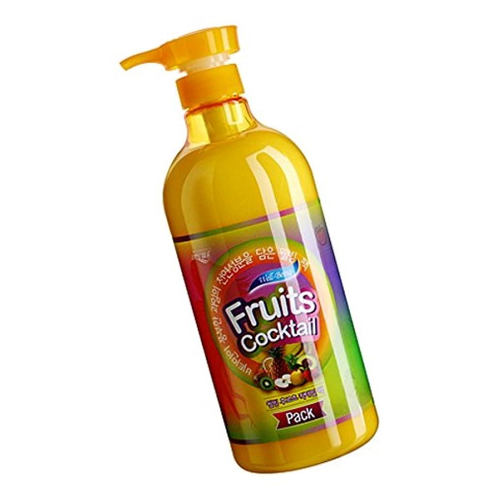 出席するストレッチ試み[Somang/希望] Incus Fruits Cocktail Pack 980ml/希望のキュスフルーツカクテルパック(海外直送品)