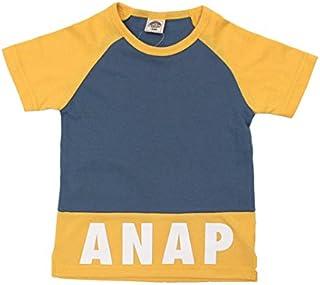 (アナップキッズ) ANAP KIDS 切替ラグランロゴ Tシャツ キッズ