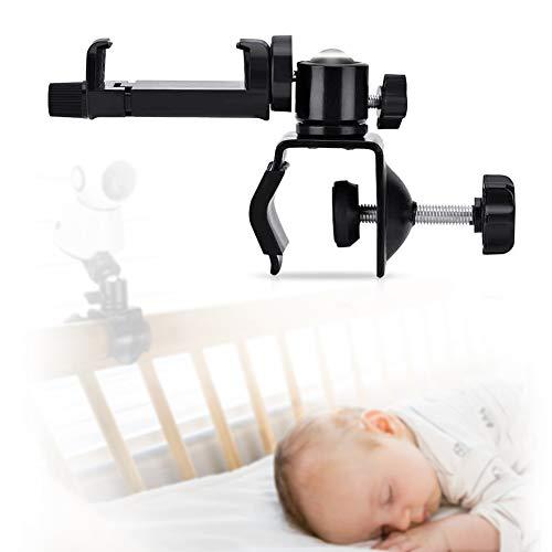 Soporte Universal para Cámara de Bebé, Estante de Montaje de Cámara para Bebé, Soporte Giratorio Ajustable, Compatible con la Mayoría de Monitores de Infantil