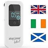 AlcoSense Lite 2 Breathalyzer & Alcohol Tester for UK, Ireland and Scotl