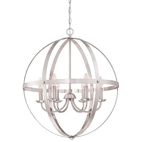 63418 driepits kandelaar Stella Mira van Westinghouse Lighting voor gebruik binnenshuis.