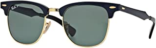 RB3507 CLUBMASTER ALUMINUM Sunglasses For Men For Women