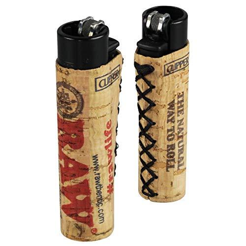 Clipper Lighter Raw Cork Design