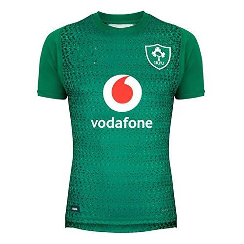 2019 Irish Home Court Auswärts Rugby Jersey, Sommersport Breathable Casual T-Shirt Fußball-Hemd-Polo-Hemd, Beste Geburtstags-Geschenk Home-XXXL