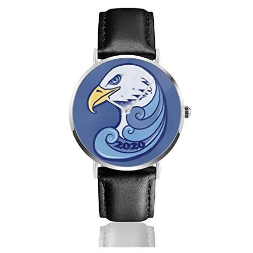 Reloj de Pulsera Blue Wave 2020 con Temporizador, Reloj Deportivo para Adolescentes, Reloj de Cuarzo con batería de 38 mm de diámetro