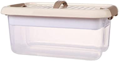 Zhangmeiren Children Multifunction Home Kit Plastic Storage Box of Small Household Medicine Chest Drug Comfortable Handle Hig