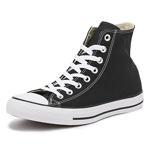 Converse All Star Hi Canvas Zapatillas Negras-UK 5
