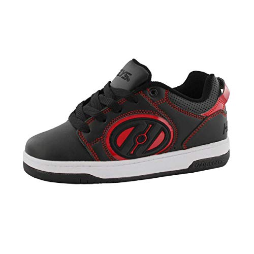 Heelys Voyager (He100607), Zapatillas de Skateboarding Unisex Adulto, Multicolor (Black/Red 000), 38 EU
