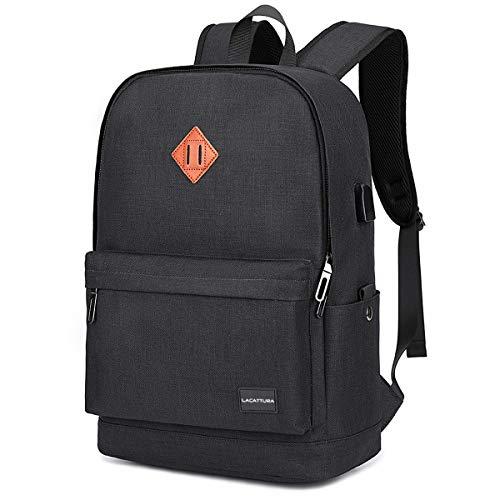School Backpack, Lightweight Student Laptop Bookbag for Boys and Girls